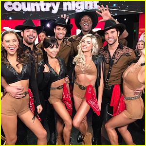 Alexis Ren Slays In The Group Performance During DWTS' Country Night Week #7