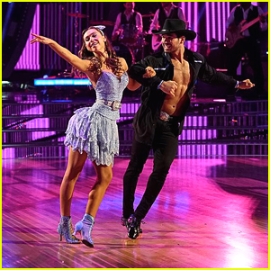 Alexis Ren & Alan Bersten's Samba Was So Sweet on 'Dancing With The Stars' Week #7 - Watch Now