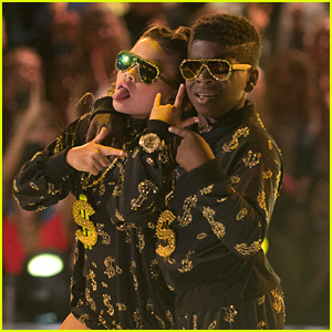 Ariana Greenblatt & Artyon Celestine Go Hip-Hop For 'DWTS Juniors' - Watch Now!