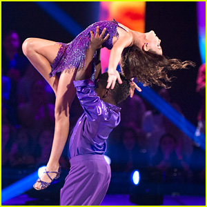 Ariana Greenblatt & Artyon Celestine Amaze With Salsa Number on 'DWTS Juniors' - Watch Now!
