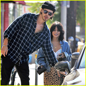 Austin Butler Holds the Car Door Open for Girlfriend Vanessa Hudgens!