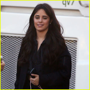 Camila Cabello Gets to Work on a New Music Video!