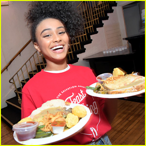 Daniella Perkins & 'Knight Squad' Stars Give Back at Salvation Army's Feast of Sharing Holiday Dinner