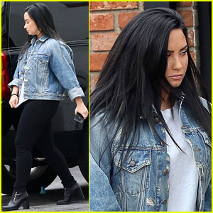 Demi Lovato Steps Out for Coffee After Hitting the Gym