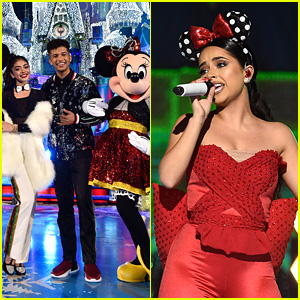 Becky G Will Perform At 'Wonderful World of Disney: Magical Holiday Celebration' Tonight With Hosts Jordan Fisher & Sarah Hyland!