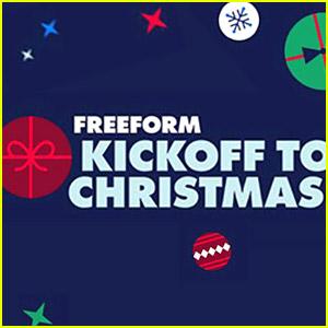 Freeform Announces 'Kickoff To Christmas' Movie Lineup