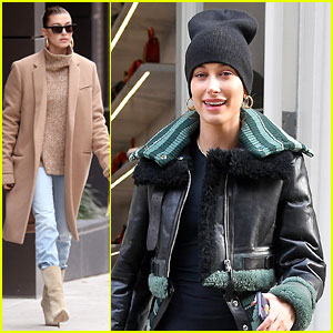 Hailey Baldwin Steps Out After Changing Her Instagram Handle to Bieber