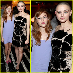The Act's Joey King & AnnaSophia Robb Team Up for Hulu's Holiday Party!