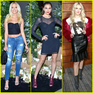 Jordyn Jones Hits Up Guess' Holiday Event After Buying Her First Home