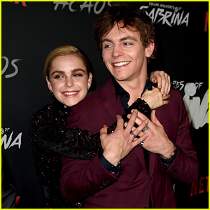 Kiernan Shipka Calls Working With Ross Lynch 'The Best'