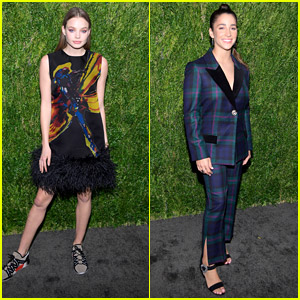Kristine Froseth Wears Sneakers to CFDA Vogue Fashion Fund Event