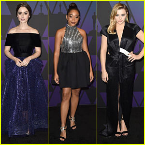 Lily Collins, Amandla Stenberg, Chloe Moretz & More Glam Up For Governors Awards 2018