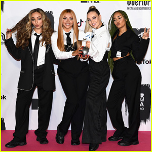 Little Mix Switch Up Their Look to Accept MTV EMA Award!