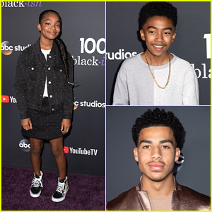 Marsai Martin, Miles Brown & Marcus Scribner Celebrate 'black-ish's 100th Episode Dedicated To Prince