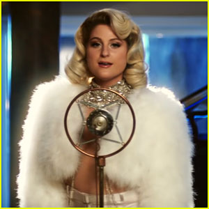 Meghan Trainor Goes Glam for CNCO's 'Hey DJ' Music Video - Watch!