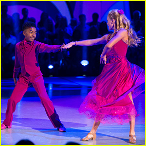 Miles Brown Whirls Rylee Arnold Around On The Dance Floor on 'DWTS Juniors' - Watch Here!