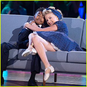 Miles Brown & Rylee Arnold 'Rock Around The Clock' For 'DWTS Juniors' - Watch Now!