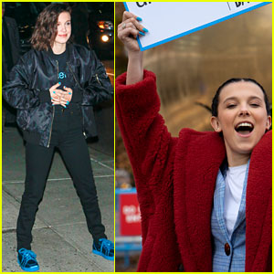 Millie Bobby Brown Becomes Youngest UNICEF Goodwill Ambassador on World Children's Day!