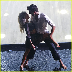 Milo Manheim & Witney Carson Danced On Water For Their Freestyle On DWTS 27 Finals - Watch Now!