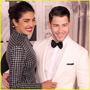 Nick Jonas & Priyanka Chopra Attend Puja Ceremony in India