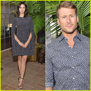 Nina Dobrev & Glen Powell Attend Michael Kors Dinner Honoring Kate Hudson!