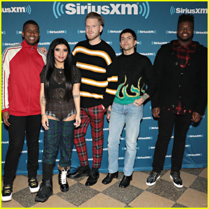 Pentatonix Host Private Christmas Concert at SiriusXM in NYC