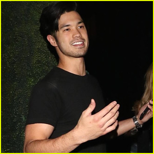 Ross Butler Heads Out To Dinner After Steve Aoki & BTS's