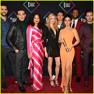 Katherine McNamara, Harry Shum, Jr. & 'Shadowhunters' Stars Share Tons of Thanks to Fans for PCAs Wins
