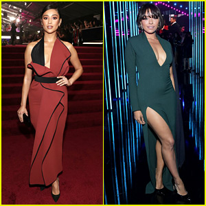 Shay Mitchell & Kat Graham Slay the Peoples' Choice Awards Red Carpet!