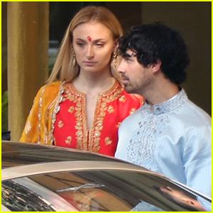 Sophie Turner & Joe Jonas Wear Traditional Indian Outfits for Nick Jonas' Pre-Wedding Ceremony!