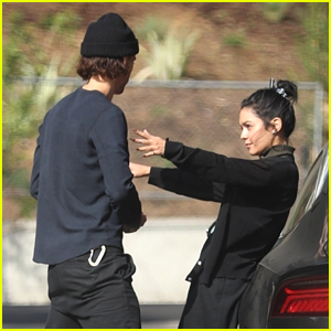 Vanessa Hudgens Steps Out for Smoothies with Boyfriend Austin Butler