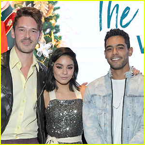 Vanessa Hudgens Reveals Some 'Princess Switch' Behind-the-Scenes Secrets!