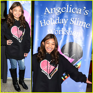 Angelica Hale Hosts Pre-Christmas Slime Workshop After Dropping Holiday EP