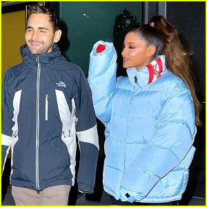 Ariana Grande Spends Time With Longtime BFF Aaron Simon Gross!