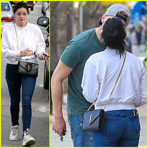 Ariel Winter & Levi Meaden Show Sweet PDA While Stepping Out Together