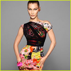 Bella Hadid's New Versace Campaign Was Shot by Her Fairy God Father!