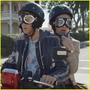 Jace Norman & Baby Ariel Are On The Case In First Look at 'Bixler High Private Eye' - Watch!