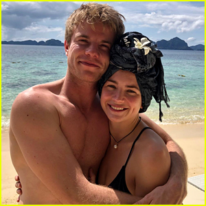 Britt Robertson Travels to the Philippines for Christmas with Graham Rogers!