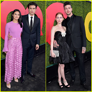 Camila Mendes & Charles Melton Make Their Official Red Carpet Debut as a Couple!