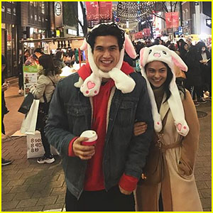 Charles Melton & Camila Mendes Share Pics & Videos From Their South Korea Trip!