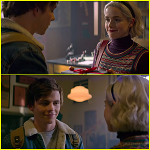 Netflix Debuts New 'Chilling Adventures of Sabrina' Holiday Special Trailer - Watch Here!