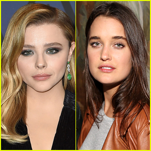 Chloe Moretz Packs on PDA with Model Kate Harrison!