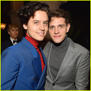 Cole Sprouse & Casey Cott's Bromance Was on Full Display at GQ Men of the Year Party