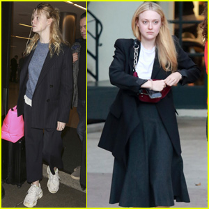 Elle & Dakota Fanning Spend Some Quality Time Together in LA