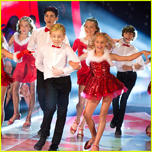'DWTS Juniors' Kicks Off Finale With Holiday Performance - Watch Here!