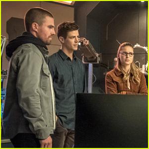 Barry & Oliver Seek Supergirl For Help In First 'Elseworlds' Crossover Episode