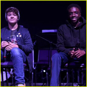 Gaten Matarazzo & Caleb Mclaughlin Kick Off For The Love Of Sci-Fi Convention