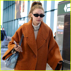 Gigi Hadid Looks Chic While Making Her Way Out of Italy!