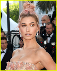 Hailey Bieber Snacked On This Food After The Versace Show