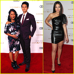 Harry Shum, Jr.'s Wife Shelby Rabara Shows Off Baby Bump at Unforgettable Gala 2018
